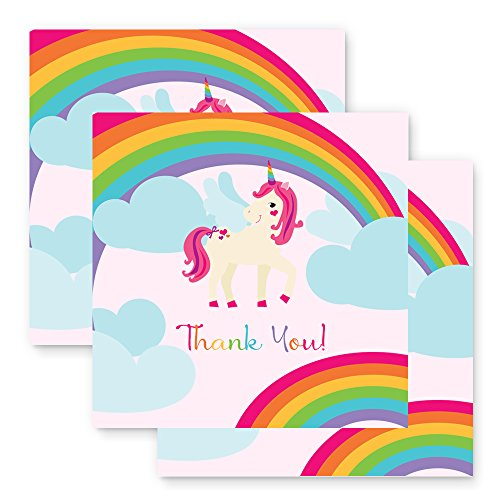 Unicorn Party Favor Tags - 25 pcs -2 inch