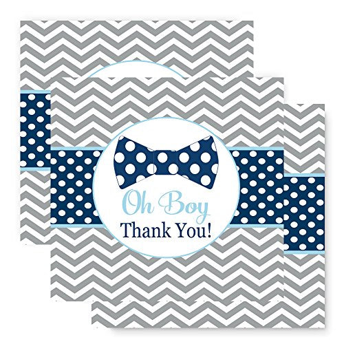Paper Clever Party Bow Tie Favor Tags -2 inch - 25 Pack
