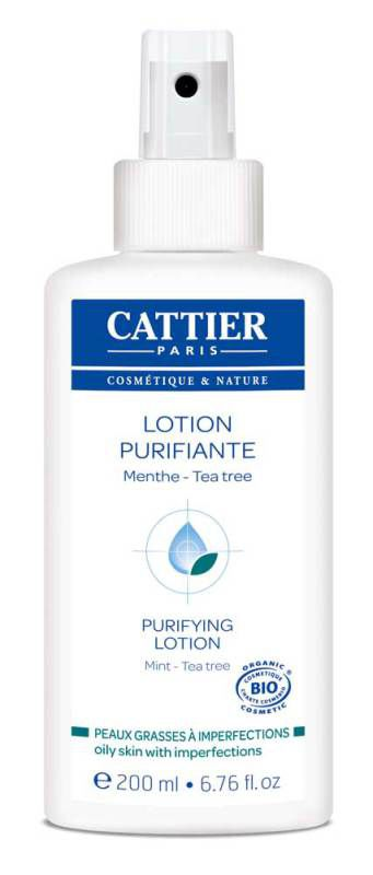 Purifying Lotion for Oily Skin – Certified Organic (200ml)