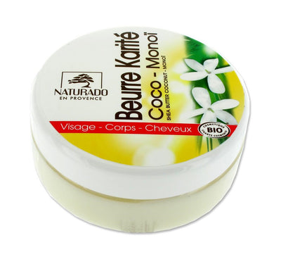 Shea Butter with Coconut and Monoi - Certified Organic (150ml)