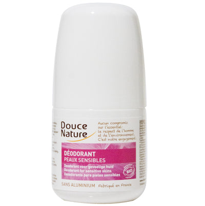 Deodorant Roll-On for sensitive skin (Aluminium free) - Certified Organic (50ml)