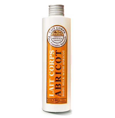 Apricot Oil Body Lotion - Certified Organic (200ml)
