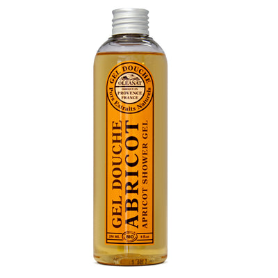 Apricot Shower Gel - Certified Organic (250ml)