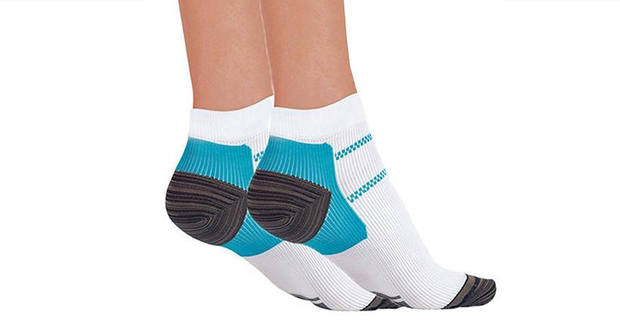 Ankle Compression Plantar Socks 5 Pack + 2 Free Socks