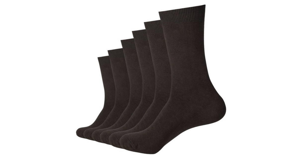 Compression Socks for Diabetics 5-Pack +1 Free Sock