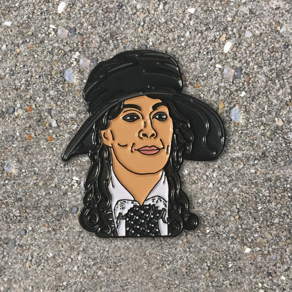 Aunt Polly Enamel Pin- Seconds