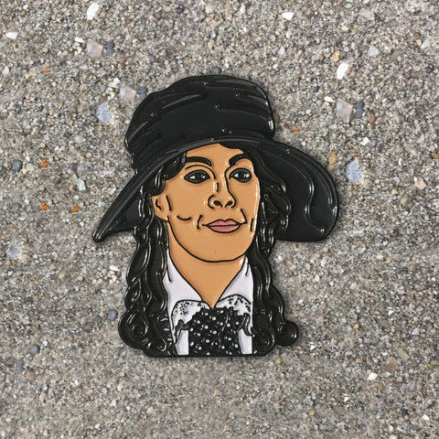 Aunt Polly Enamel Pin