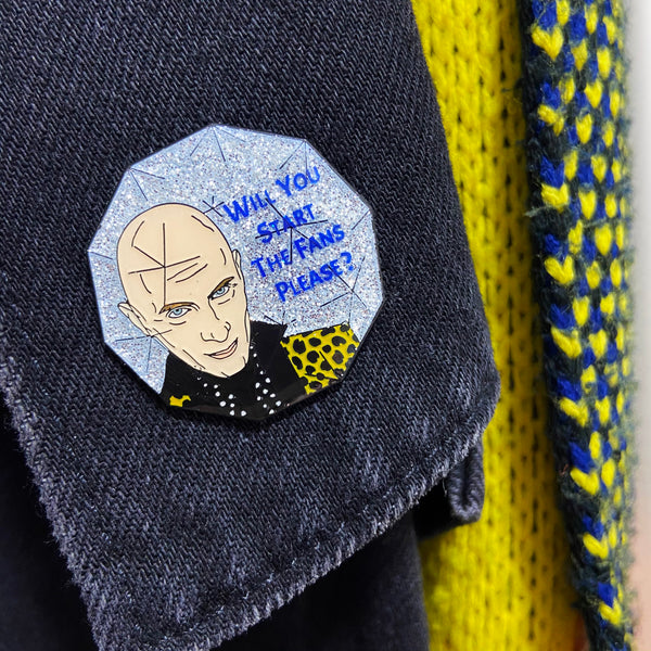 Crystal Maze Enamel Pin Seconds