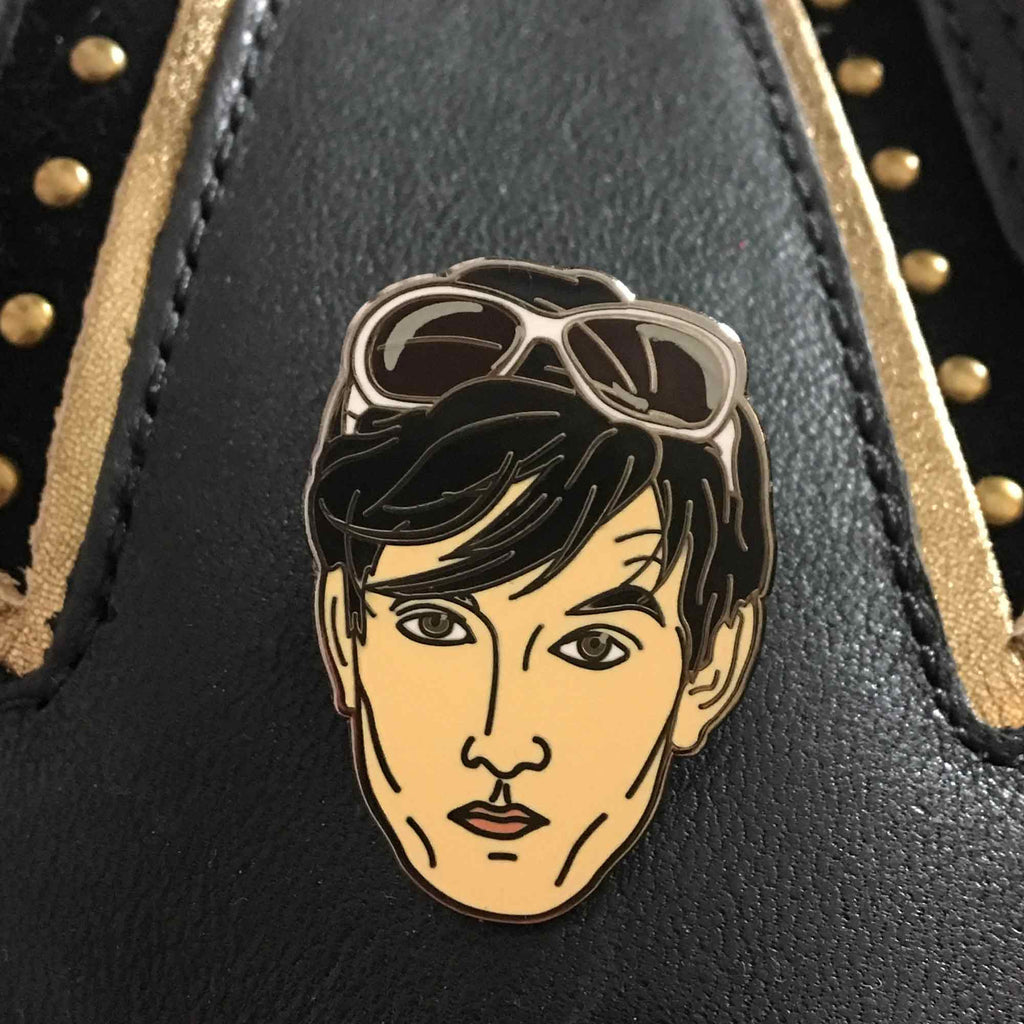 Jarvis Cocker Enamel Pin