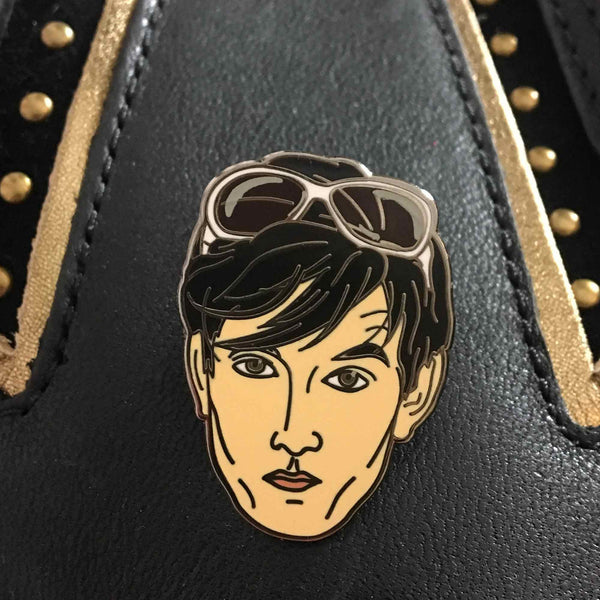 Jarvis Cocker Enamel Pin Seconds