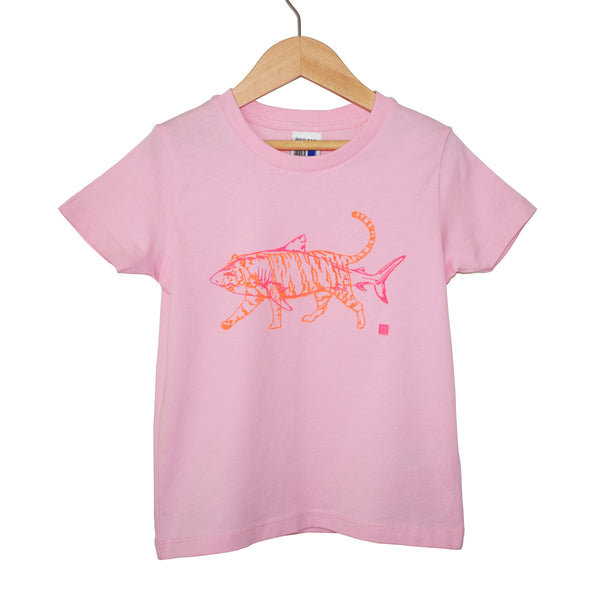 Kids Tiger Shark Tshirt in 4 colour ways