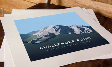 Challenger Point Colorado 14er Print
