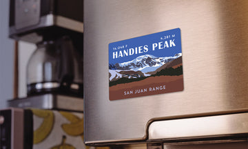 Handies Peak Colorado 14er Magnet