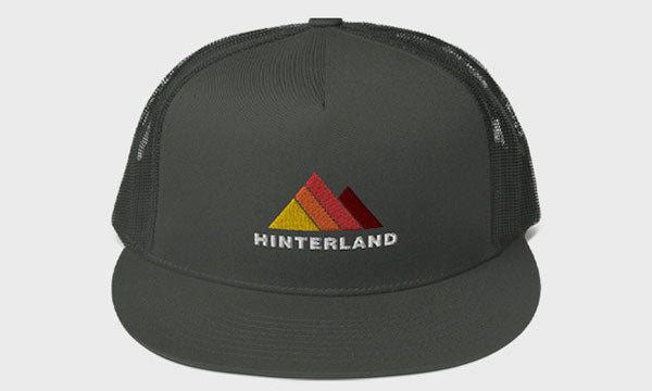 Hinterland Mountain Logo Trucker Hat