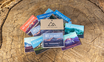 Sawatch Range Colorado 14er Magnet Pack