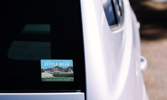 Little Bear Peak Colorado 14er Sticker