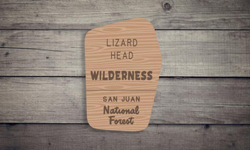 Lizard Head Wilderness Sticker