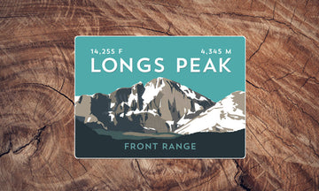 Longs Peak Colorado 14er Sticker