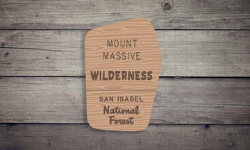 Mount Massive Wilderness Sticker