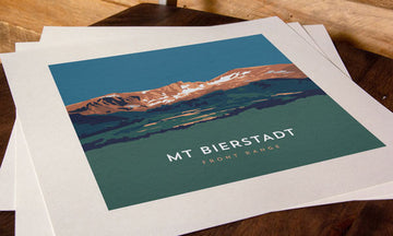 Mount Bierstadt Colorado 14er Print