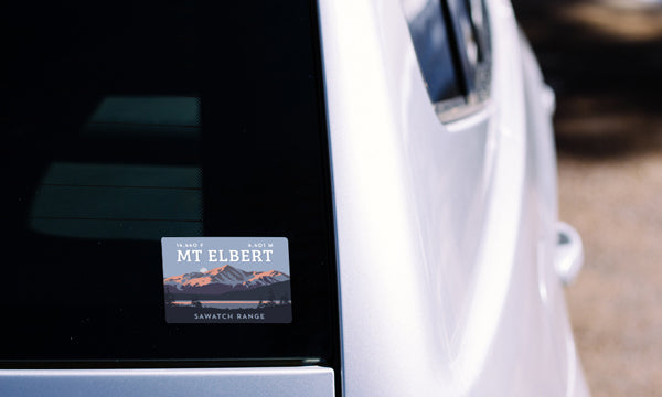Mount Elbert Colorado 14er Sticker