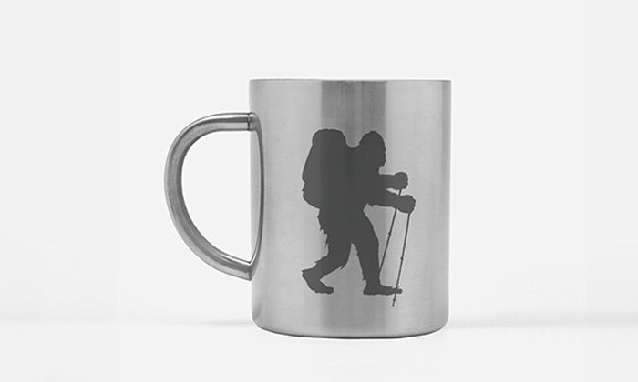 Sasquatch Backpacking Coffee Mug