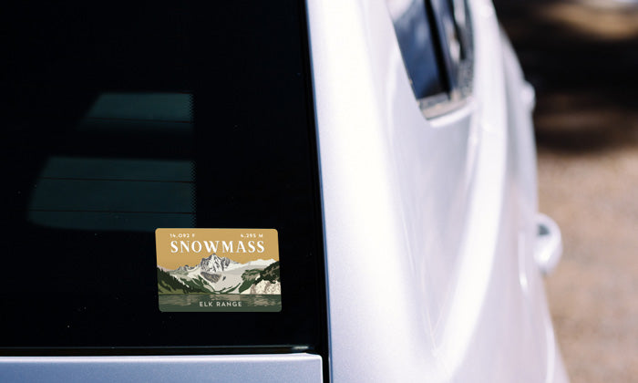 Snowmass Mountain Colorado 14er Sticker