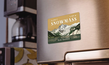 Snowmass Mountain Colorado 14er Magnet