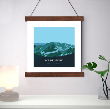 Mount Belford Colorado 14er Print