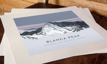 Blanca Peak Colorado 14er Print