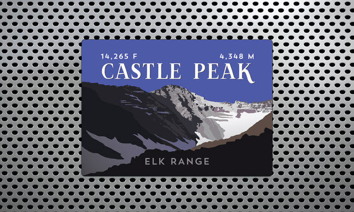 Elk Range Colorado 14er Magnet Pack