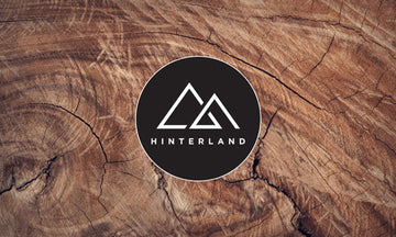 Hinterland Circle Logo Sticker