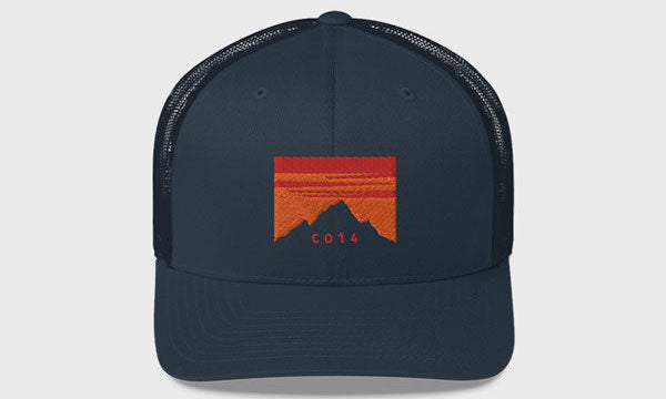 Colorado 14er Sunset Hat