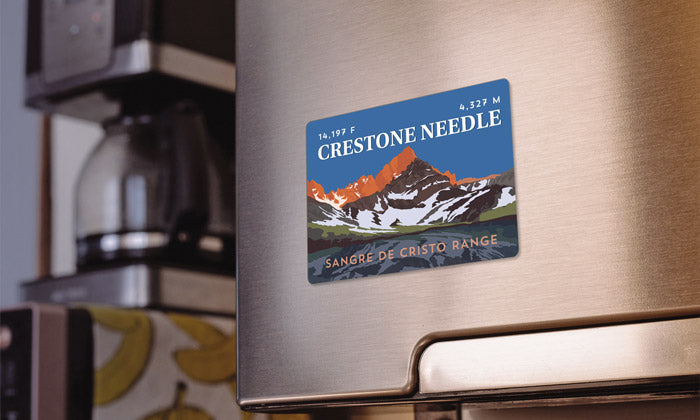 Crestone Needle Colorado 14er Magnet