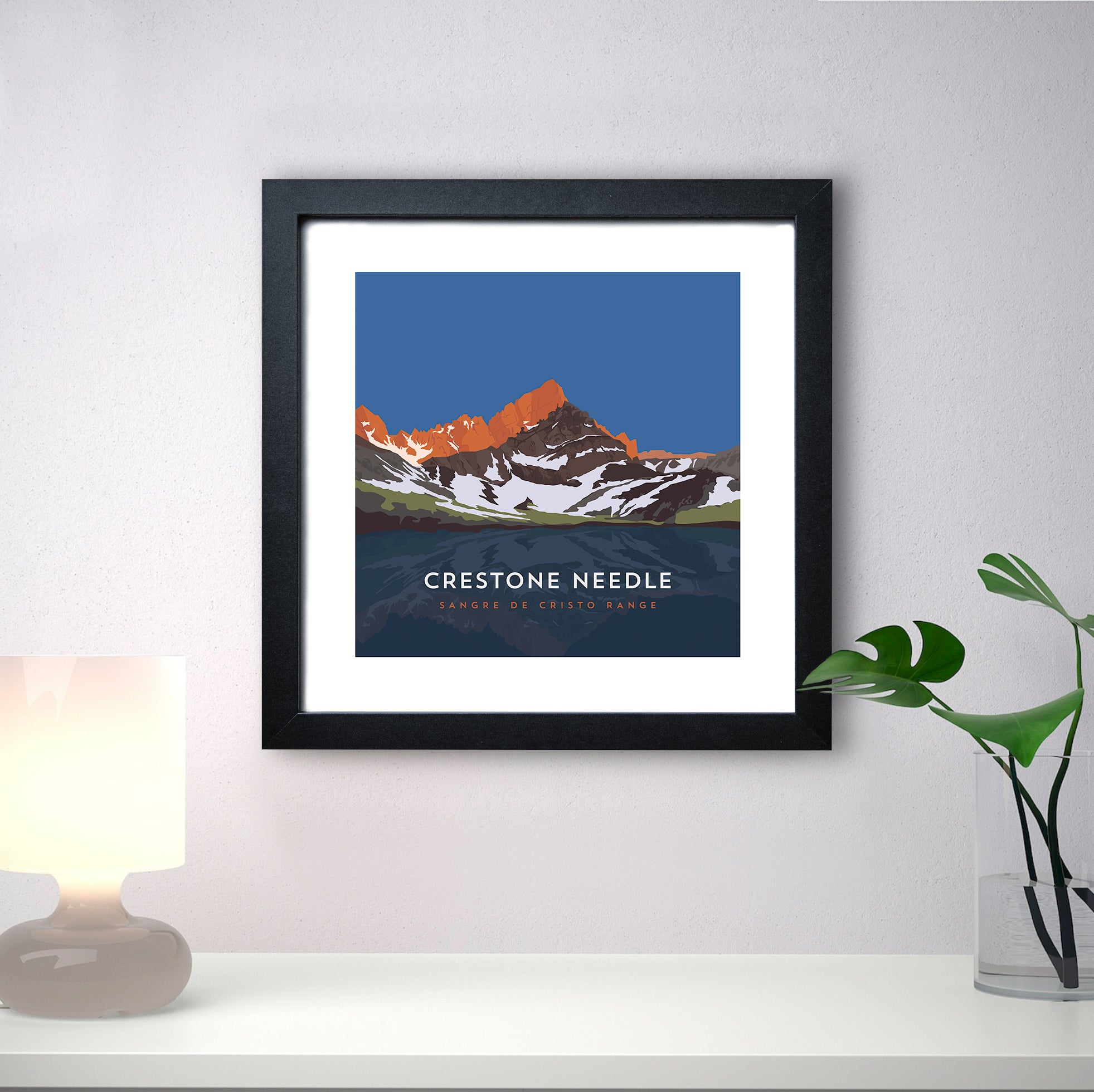 Crestone Needle Colorado 14er Print