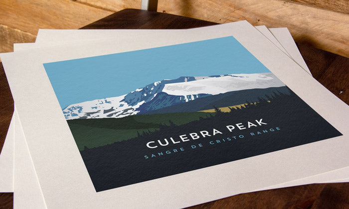 Culebra Peak Colorado 14er Print