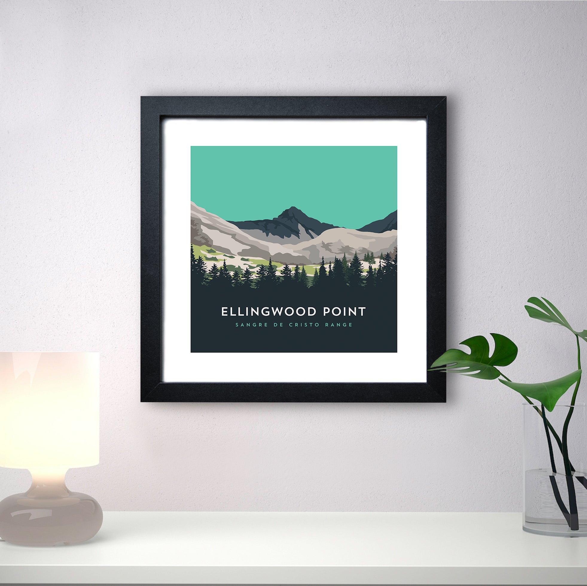 Ellingwood Point Colorado 14er Print