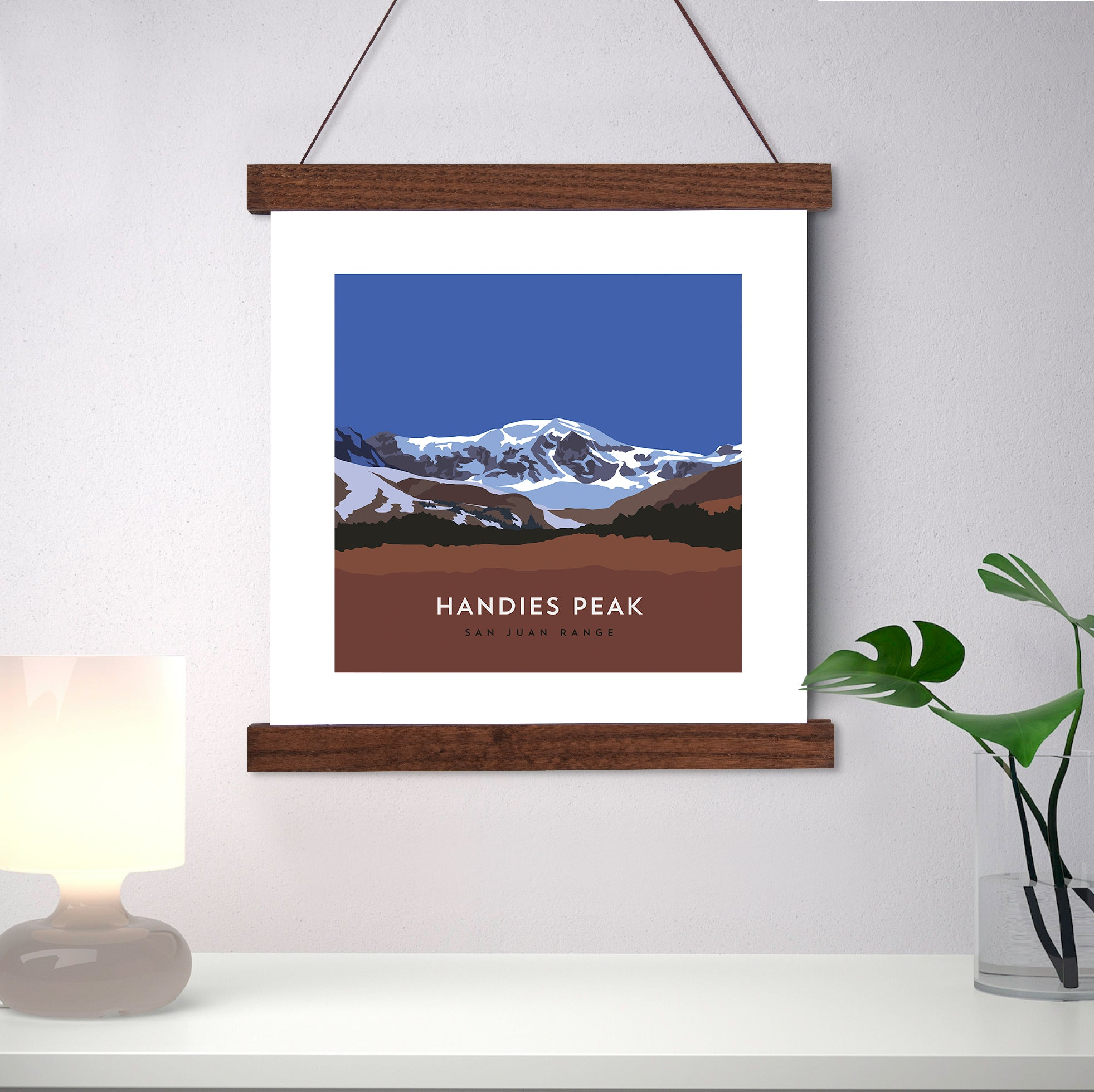 Handies Peak Colorado 14er Print