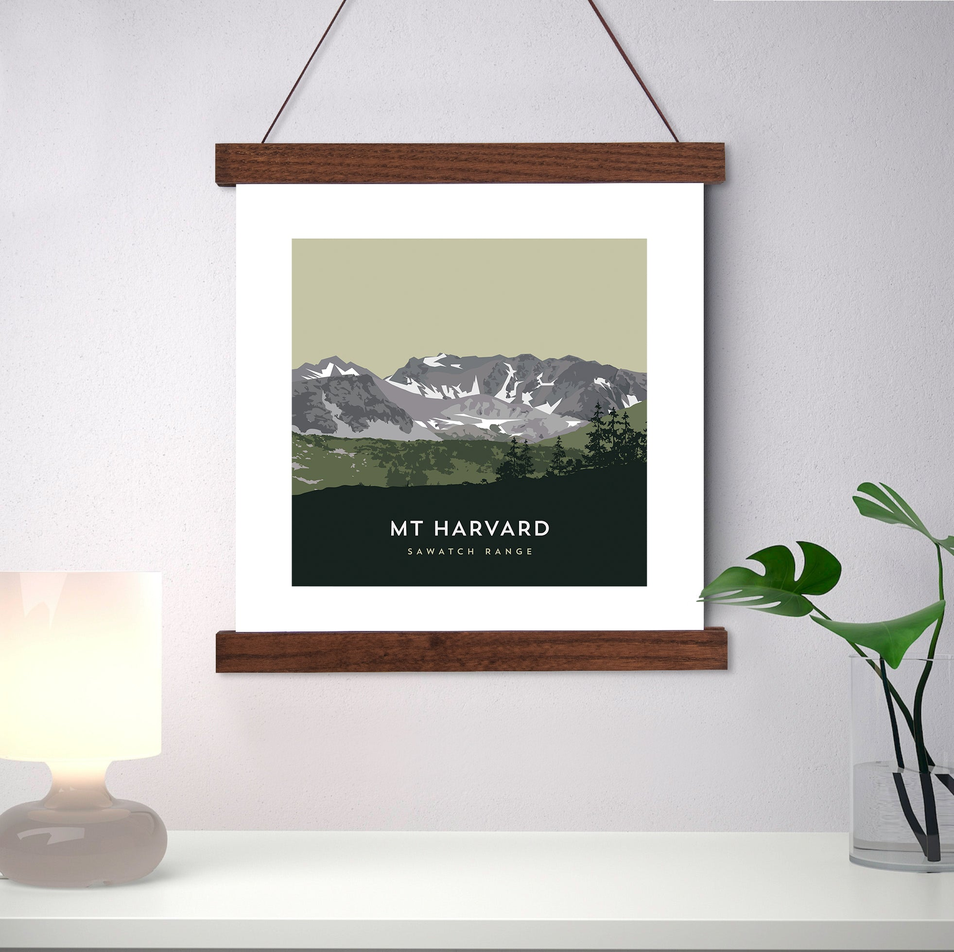 Mount Harvard Colorado 14er Print
