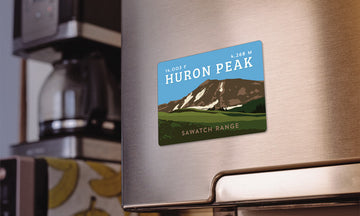 Huron Peak Colorado 14er Magnet
