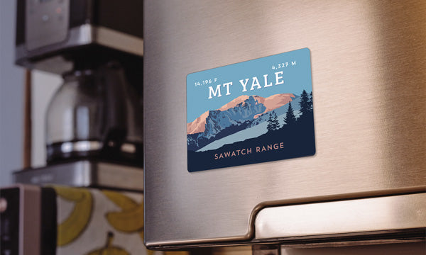 Mount Yale Colorado 14er Magnet