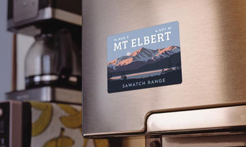Mount Elbert Colorado 14er Magnet