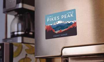 Pikes Peak Colorado 14er Magnet