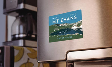 Mount Evans Colorado 14er Magnet