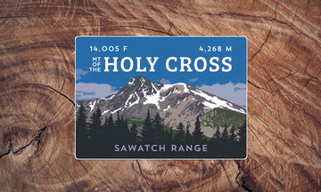 Mount of the Holy Cross Colorado 14er Sticker