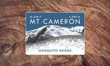 Mount Cameron Colorado 14er Sticker