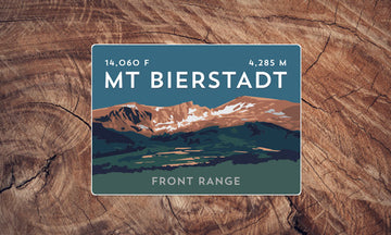 Mount Bierstadt Colorado 14er Sticker