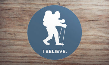 Sasquatch Backpacking Sticker