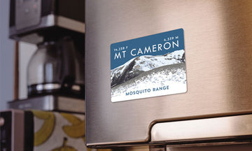 Mount Cameron Colorado 14er Magnet