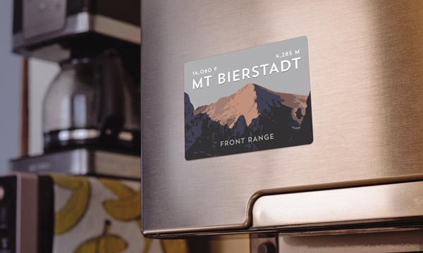 Mount Bierstadt Sawtooth Ridge Colorado 14er Magnet